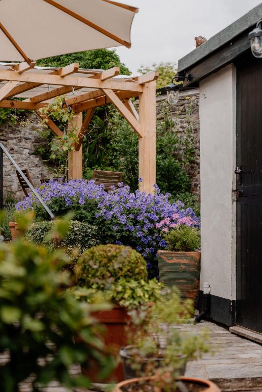 Bridge House Back Garden